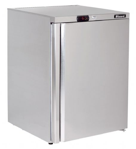 Blizzard UCR140 Under Counter Stainless Steel Refrigerator 145L